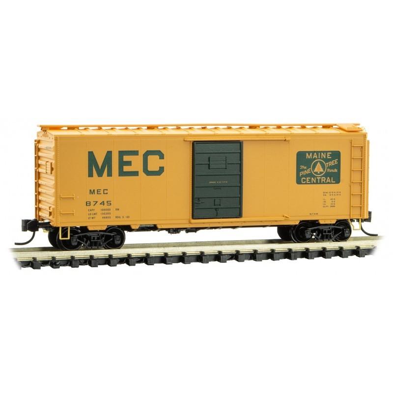 N 40' Standard Box Car  Maine Central 8745_59721