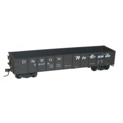 HO AAR 41' Steel Gondola 3-Pack - kit - D&RGW_59814