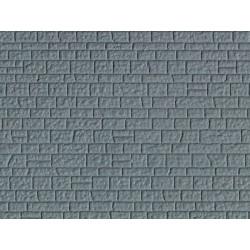 HO Mauerplatte Naturstein aus Kunsts 21,8 x 11,9cm_59918
