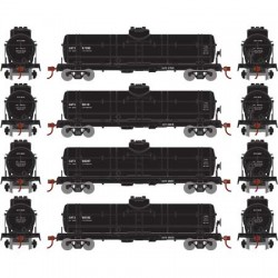 HO Single Dome Tank Car (4) General American Trans_60169