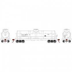 HO Single Dome Tank Car (1) Santa Fe 98344_60187