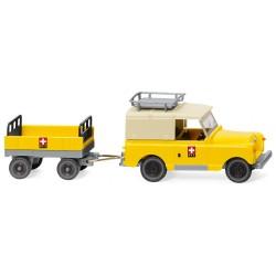 HO Land Rover mit Anhänger_60216