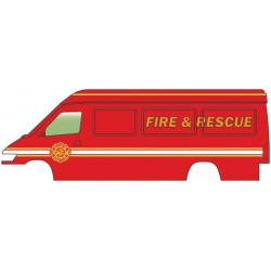 HO Service + Delivery Van - Fire & Rescue_60350