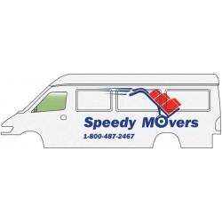 HO Service + Delivery Van - Speedy Movers_60354