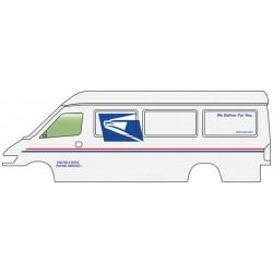 HO Service + Delivery Van - US Postal Service_60358