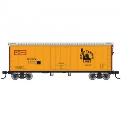 HO 40' Plug Door box car Jersey Central Line 1498_60362