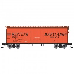 HO 40' Plug Door box car Western Maryland 15_60366