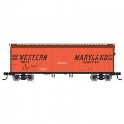 HO 40' Plug Door box car Western Maryland 7_60368