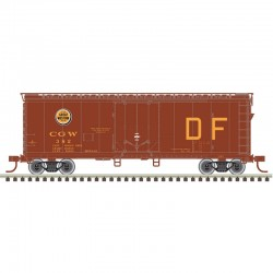 HO 40' Plug Door box car Chicago Great Western 383_60371