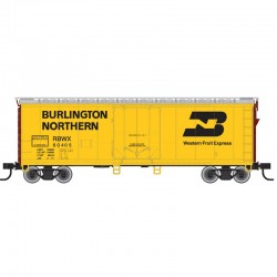 HO 40' Plug Door box car Burnlington North 60381_60375