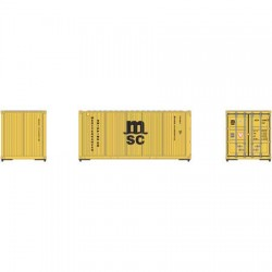 HO 20' Corrugated Container (3) MSC_60487