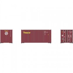 HO 20' Corrugated Container (3) Touax_60493