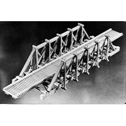 HO True Timber Bridge, Holzbausatz, Occasion_60509