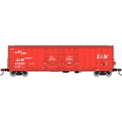 HO 50' Evans dbl plug door box car L&N 490008_60585