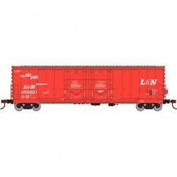 HO 50' Evans dbl plug door box car L&N 490010_60586
