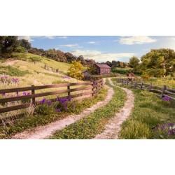 HO Log Fence_60869