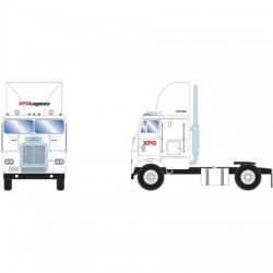 HO Freightliner Truck w/2 Axle, XPO Logistics_61126