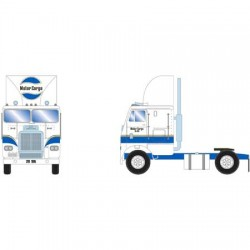HO Freightliner Truck w/2 Axle, Motor Cargo_61128