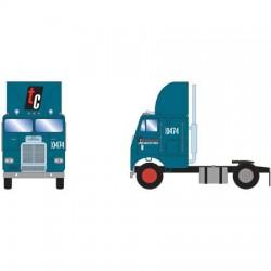 HO Freightliner Truck w/2 Axle, Transcon_61130