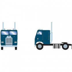 HO Freightliner Truck w/2 Axle, Owner Operator - G_61141