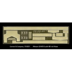 HO Safety Tread & Step Kit (Photo-Etched Brass)_61536