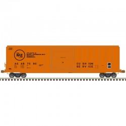 HO 5077 single door box car A&ST.A B 7095_61560
