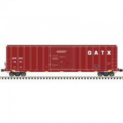 HO 5077 sgl door box car WRWK / GATX 1411_61578
