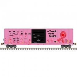 HO 5077 sgl door box car Railbox on track 40188 h_61582
