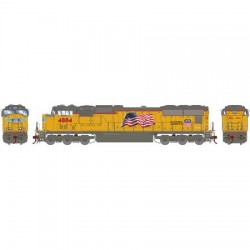 HO SD70M Union Pacific early Flare 4870 DC_61589