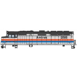 HO EMD F40PH Amtrak PhII 250 DCC-ESU_61609