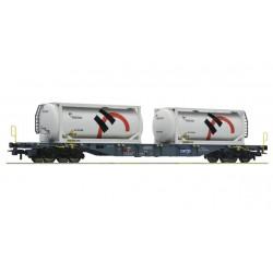 HO Containertragwagen, SBB, Holzcim_61756