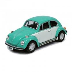 O 1/43 VW Käfer hellblau - weiss_61973