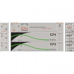 HO 53 Jindo container (3) Canadian National (Vari)_62060