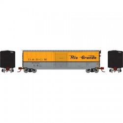 N PS-1 sgl door box car Rio Grande 60507_62186