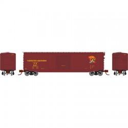 N PS-1 sgl door box car Tidewater Southern 504_62193