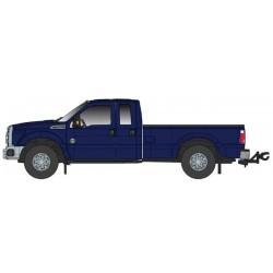O 1/50 Ford F250 XLT Crew Cab & 6' Bed blue_62207