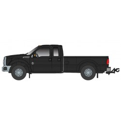 O 1/50 Ford F250 XLT Crew Cab & 6' Bed black_62209