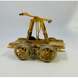 G Pump Hand car w/wood wheels (kit)_62254