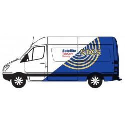HO 1990 Sprinter Van - Telecom Security_62333