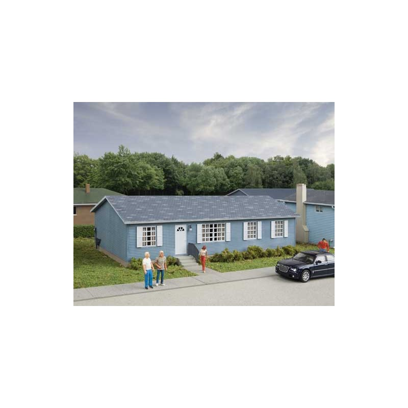 HO Modern Sectional House 17.5 x 8.4 x 5.2cm_62429