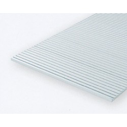 Polystyrol Platte quergerillt 0,5mm Kerbab. 0,5mm_625