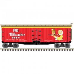 N 40' wood reefer Old Milwaukee 92237_62716