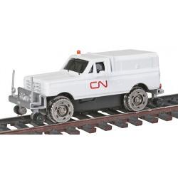 HO 1929 Track Inspection Sedan CN Rail_62839
