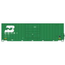 HO Gunderson 50ft high cube Box C BN 287192_63227