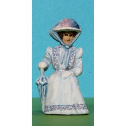 2301-A95 Sitting Edwardian lady_6333