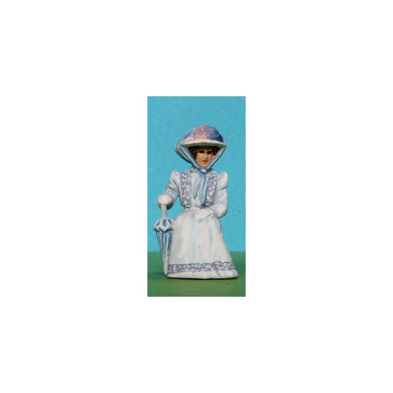 2301-A95 Sitting Edwardian lady_6333