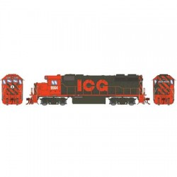 HO GP38-2 Illinois Central Gulf 9568 DCC Ready_63437