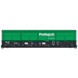 HO 56 Thrall All-Door Boxcar Potlatch 121_63886