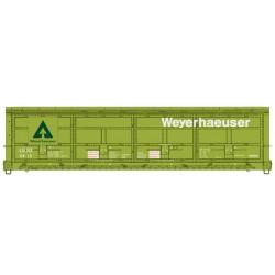 HO 56 Thrall All-Door Boxcar Weyerhauser 4430_63892