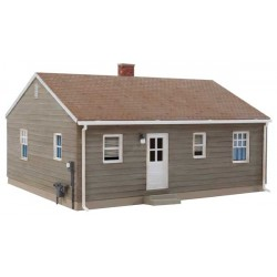 HO Postwar Prefab House kit_63898